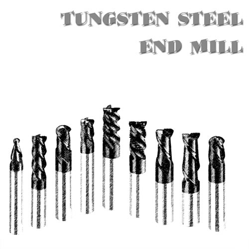 Haina tungsten steel end mill products