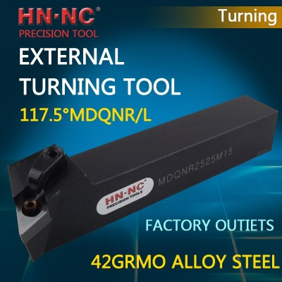 Hainer 117.5°MDQNR/MDQNL External Turning tool
