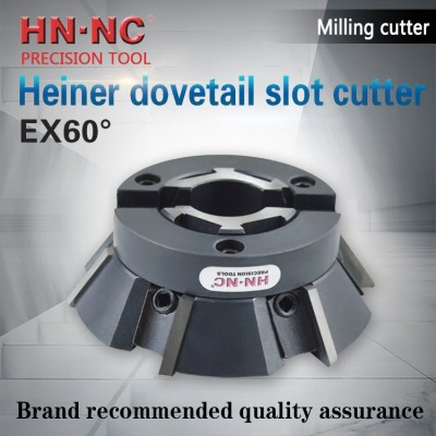Ex60 dovetail groove milling cutter head
