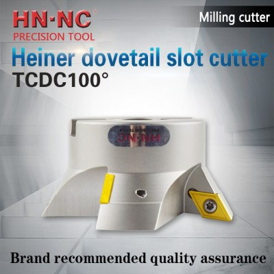 Tcdc100 dovetail groove milling cutter head