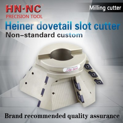 Non standard dovetail groove milling cutter head